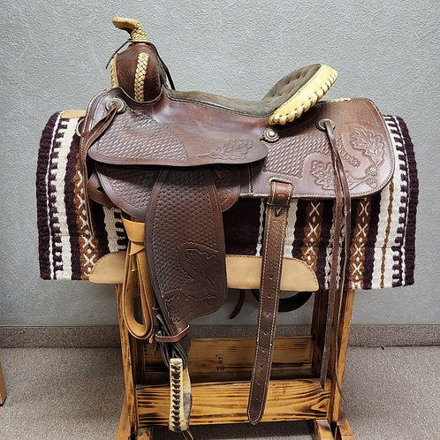 "Used 15"" Bud Tostrude Saddle"