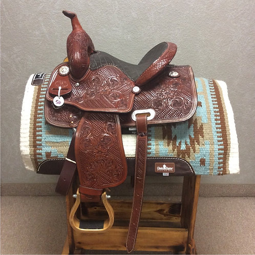 "12.5"" Paul Taylor Barrel Saddle ( PT-20 Pink)"