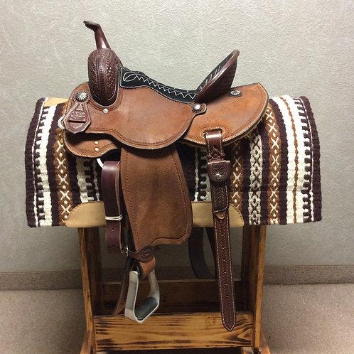"14.5"" Reinsman Barrel Saddle"