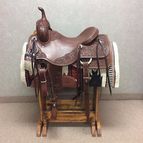 """16.5"""" Jeff Smith Cutting Saddle (C-6138)"""