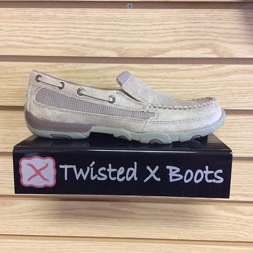 Twisted X Brown Driving Moccasin