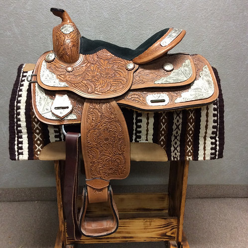 "15"" Royal King Show Saddle"