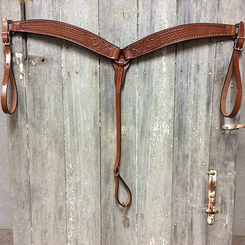 Combo Tooled Billy Cook Breast Collar