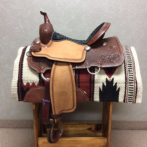 "15""  Billy Cook Barrel Saddle #1550"