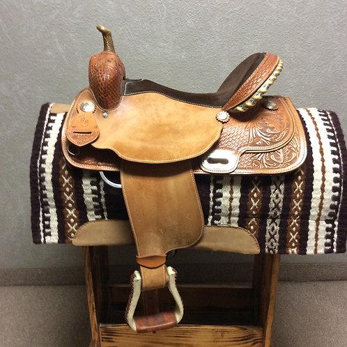 "Used 16"" RS Barrel Saddle #1131"