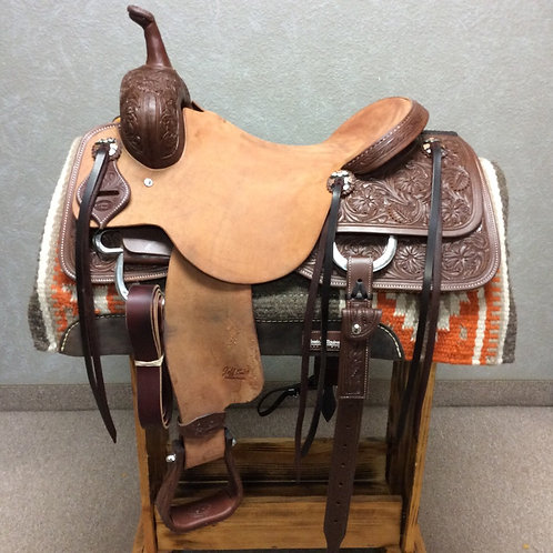 "16.5"" Jeff Smith Cutting Saddle (C-003)"