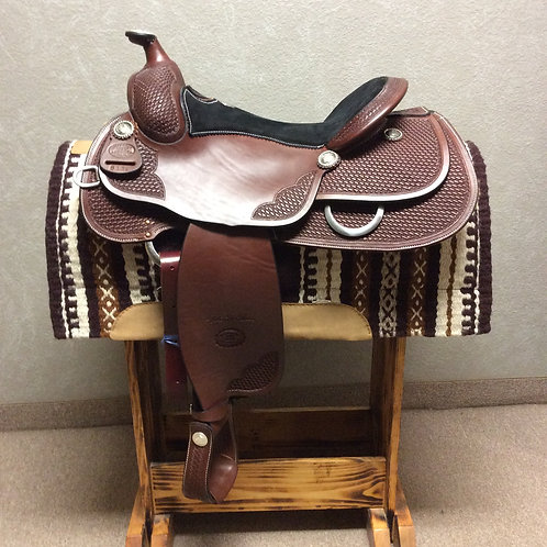 "16"" Billy Cook Reining Saddle #6112"