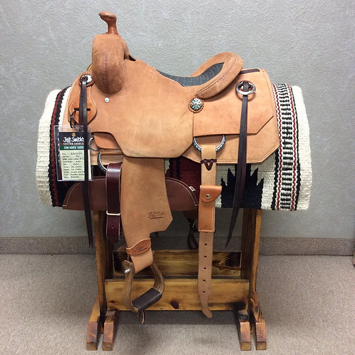 """14"""" Jeff Smith Cowhorse Saddle"""