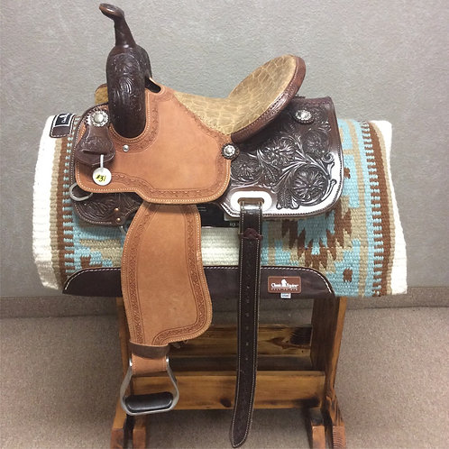 "13.5"" Brazos Barrel Saddle (BB-31 Yellow)"