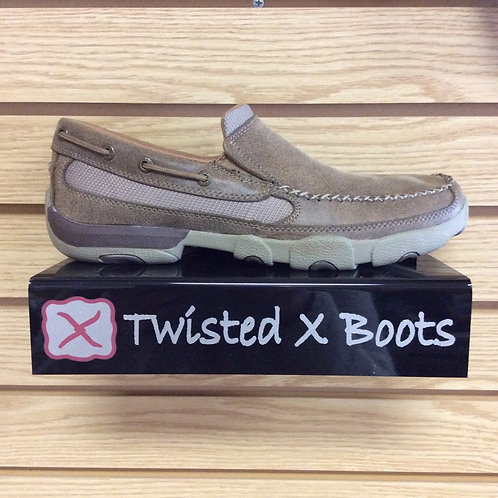 Twisted X Men's Brown Driving Moccasin