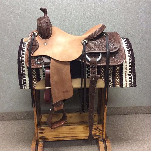 """15.5"""" Jeff Smith Cowhorse Saddle"""