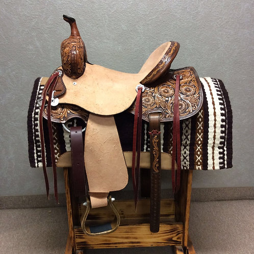 "15"" SRS Saddlery Barrel Saddle"
