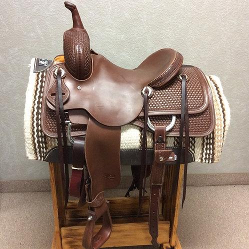 """14"""" Jeff Smith Cutting Saddle (C-026)"""