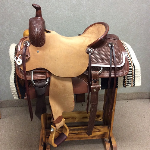 "16.5"" SRS Ranch Cutting Saddle (SRSRC-08 Orange)"