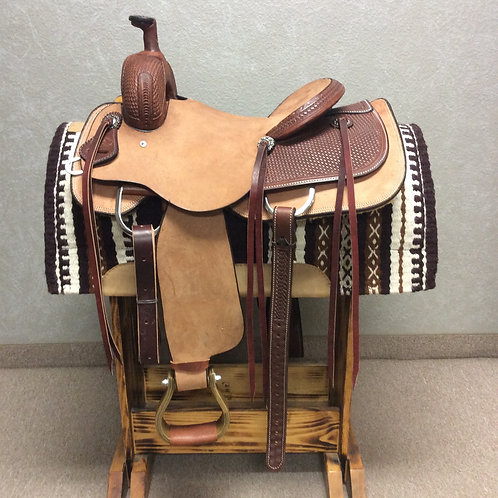 "15"" SRS Ranch Cutting Saddle"