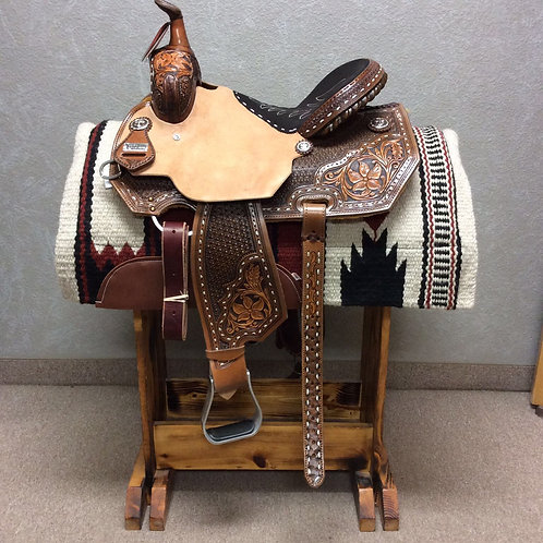 "14.5"" Silesia Barrel Saddle"