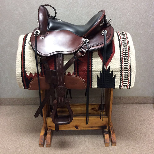 "16"" Julie Goodnight Cascade Crossover Trail Saddle"