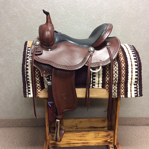 """16"""" Billy Cook Trail Saddle #1977"""