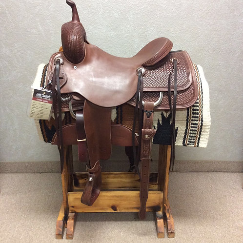 "16"" Jeff Smith Cutting Saddle (C-442)"