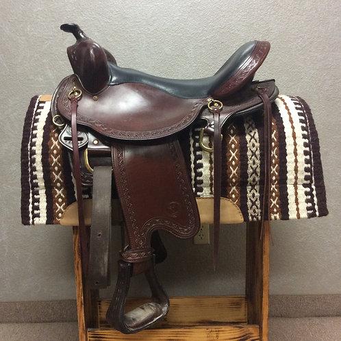 "Used 17"" Big Horn Trail Saddle"