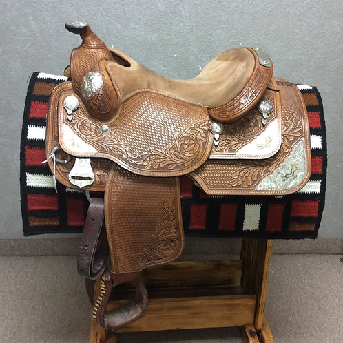 "16"" Dale Chavez Show Saddle"