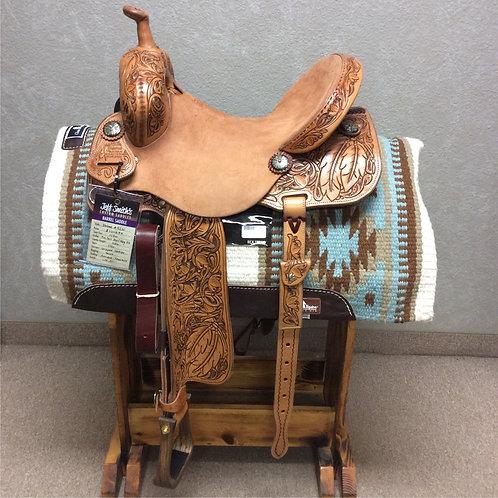 """14.5"""" Jeff Smith Xtreme Barrel Saddle (X-5261)"""