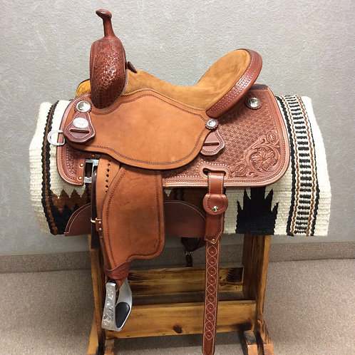 "14.5"" x 7"" Martin Stingray Barrel Saddle"