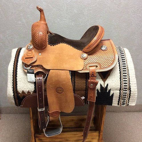 "14"" Jeff Smith Barrel Saddle (JSB-148)"