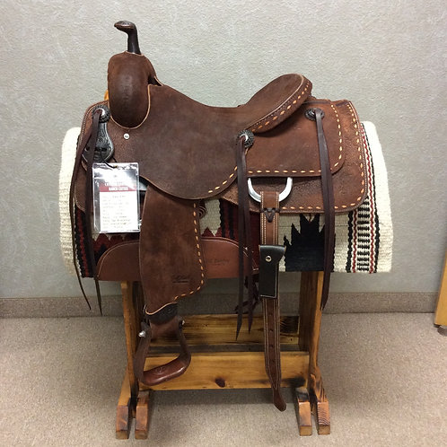 "16"" Jeff Smith Ranch Cutter Saddle (RC-6336)"