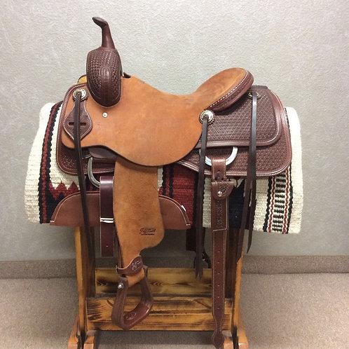 """16"""" Jeff Smith Cutting Saddle (C-071)"""