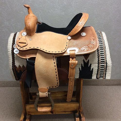 "15"" SRS Saddlery Barrel Saddle (SRSB-19)"