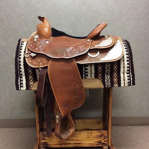 """Used 16"""" Circle Y Show Saddle"""