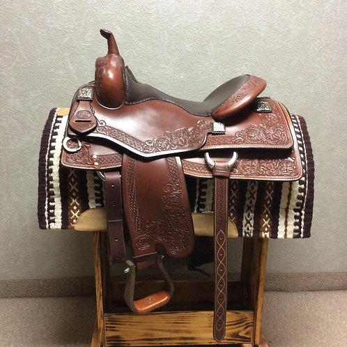 """16"""" Bob's Custom Tim McQuay Reining Saddle"""