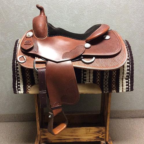 """16"""" Bob's Custom Bob Avila Reining Saddle"""