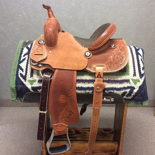 "12.5"" Jeff Smith Barrel Saddle (JSB-141)"