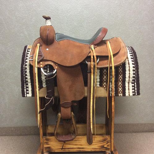"""15"""" Box T Cowboy Saddle"""