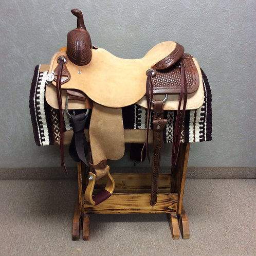 "17"" SRS Ranch Cutting Saddle"