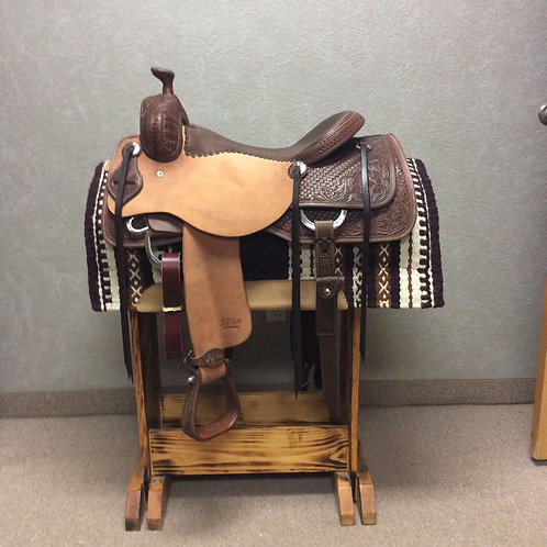 "17"" Jeff Smith Cowhorse Saddle"