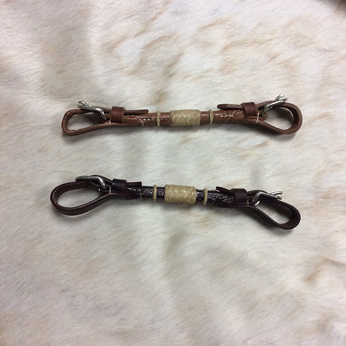 Rolled Leather Rawhide Chin Strap #4702