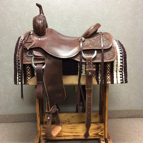 """16.5"""" Jeff Smith Cutting Saddle"""