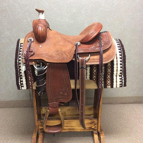 """14"""" Box T Cowboy Saddle"""