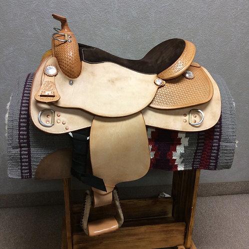 Basketweave RS Training Saddle