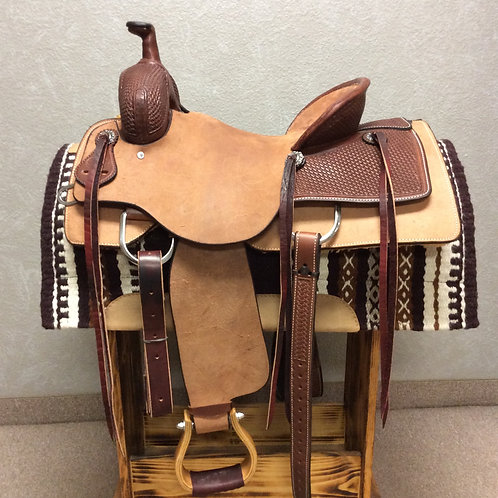"15.5"" SRS Ranch Cutting Saddle"