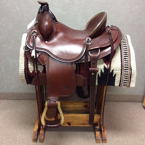 "16"" Circle Y Bozeman Ranch Saddle"