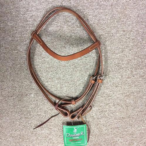 Reinsman Diamond R Browband Headstall