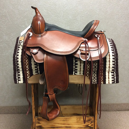 """17"""" Circle Y Pioneer Trail Saddle"""