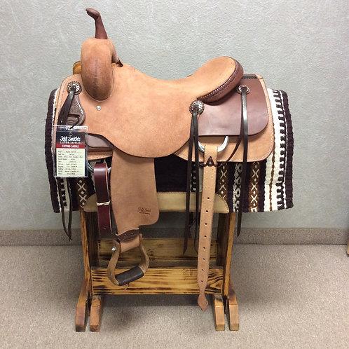"""16.5"""" Jeff Smith Cutting Saddle (C-6784)"""