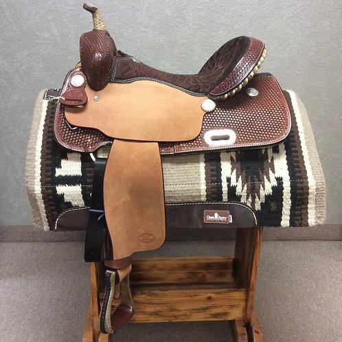 """15""""  Billy Cook Barrel Saddle #1521"""