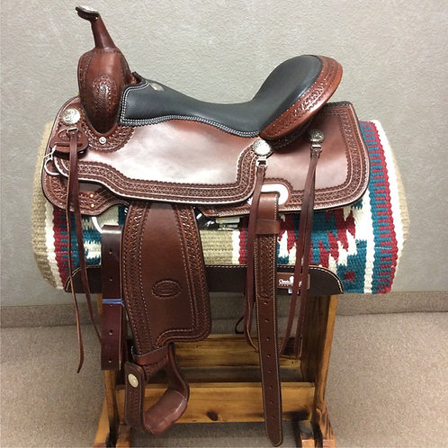 "16"" and 17"" Billy Cook Trail Saddle #1538"