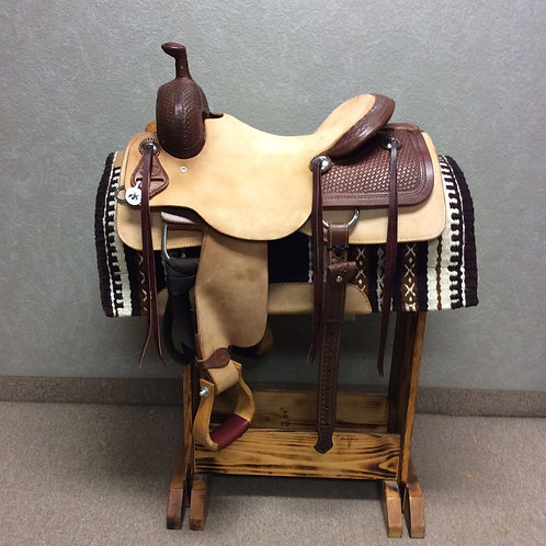 "16"" SRS Ranch Cutting Saddle"